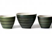 Chelsea Bowl in Grays, Green