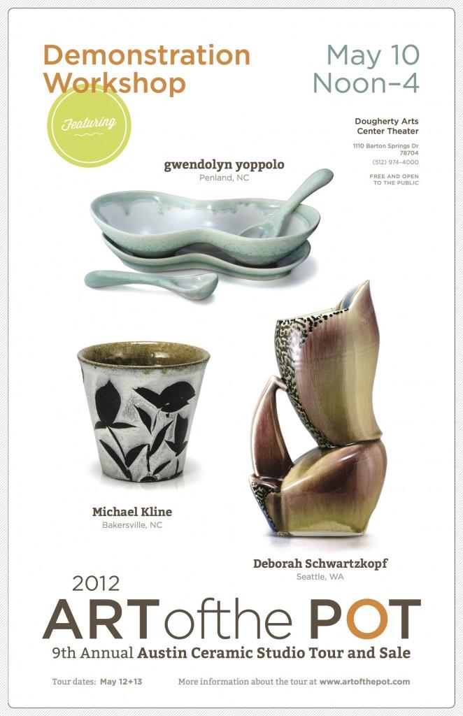Art of the Pot Michael Kline Deb Schwartzkopf Workshop Austin