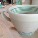 Cafe Mug with new Color/Pattern