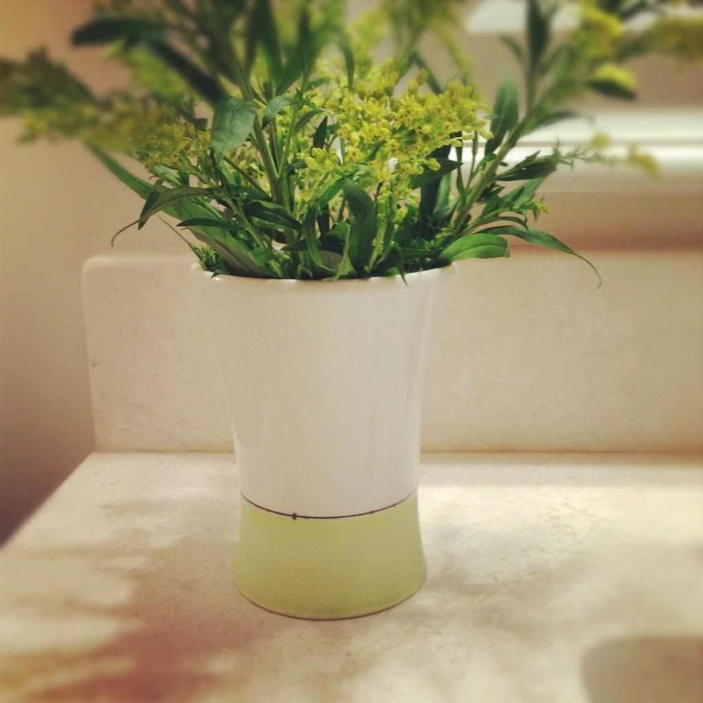 Chartreuse Porcelain Cup