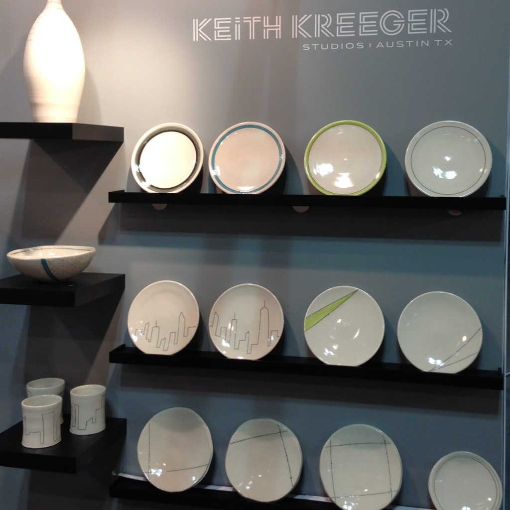 keith kreeger studios new porcelain plates