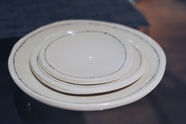 Keith Kreeger Pottery Studios Slab Plates