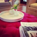 Platter w/ Bud Vases