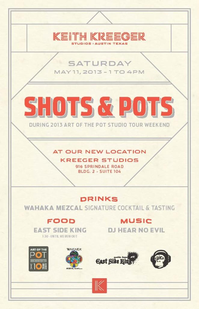 Shots and Pots Invite